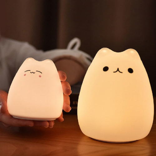 Cat Touch Light Silicone Sensor Lamp