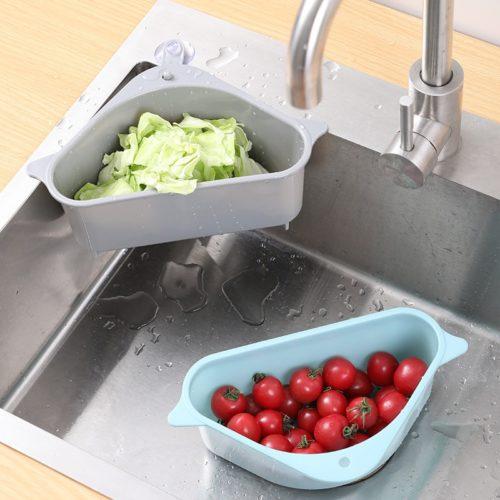 Corner Triangle Sink Strainer Basket