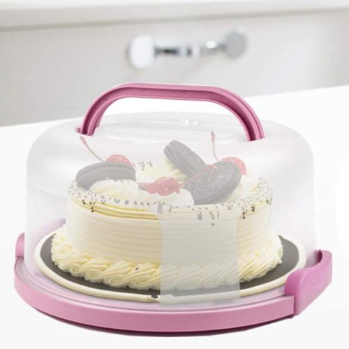 Portable Cake Carrier with Handle