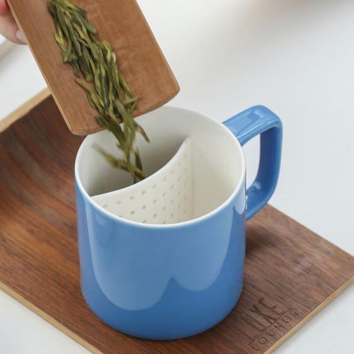 Ceramic Tea Steeper Mug