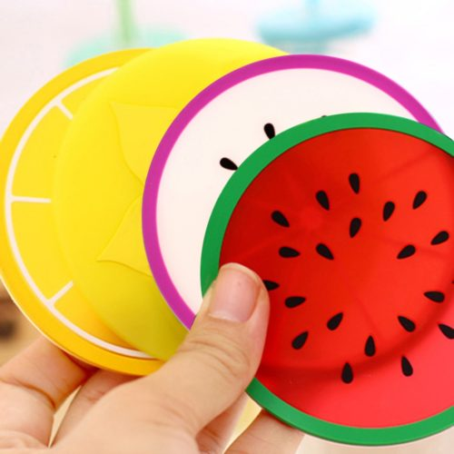 Cup Coaster for Table with Fruit Shape
