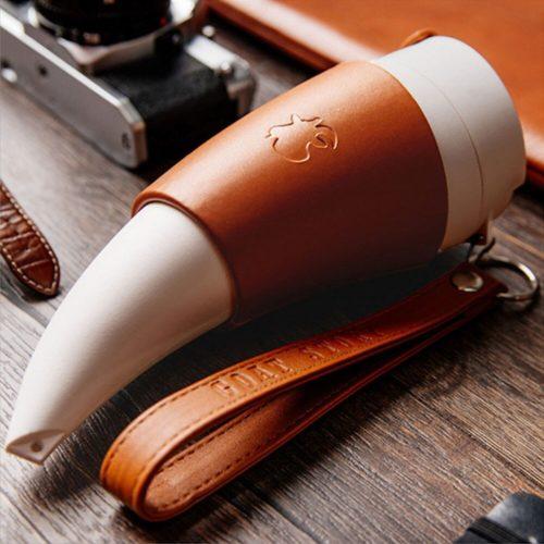230ml Viking Horn Mug with Straps