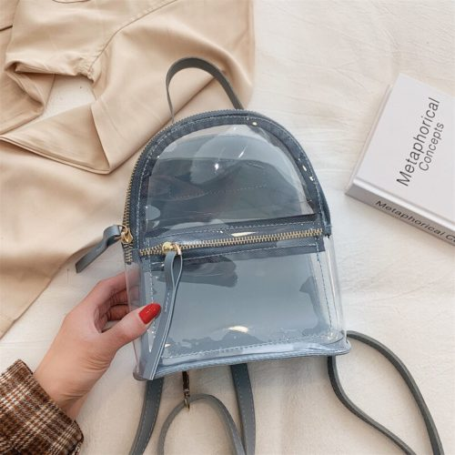 Casual Small Clear Backpack