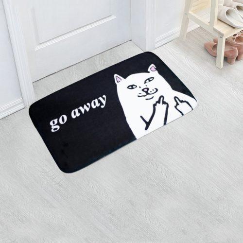 Go Away Doormat Door Entrance Mat