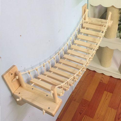 Cat Bridge for Wall Pet Furniture