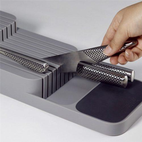 Kitchen Drawer Knife Organizer Block