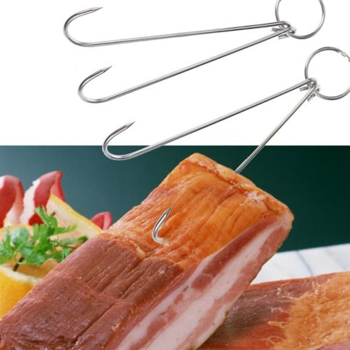 Stainless Meat Hanging Hooks (6pcs)