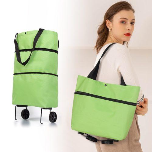 Foldable Rolling Shopping Bag