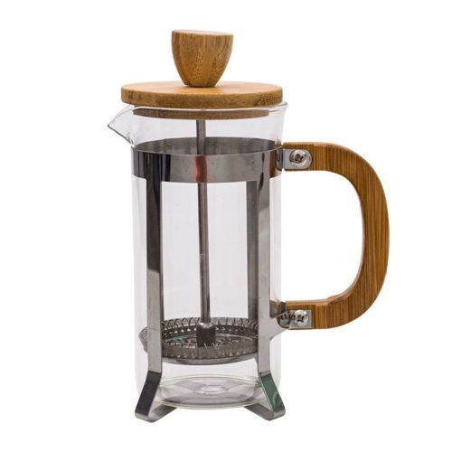 Wooden French Press Coffee Maker