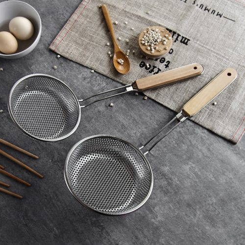 Stainless Kitchen Strainer with Handle