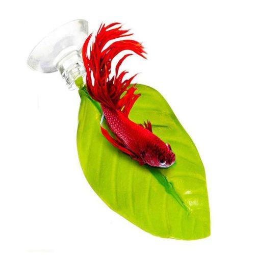 Suction Aquarium Betta Leaf Hammock