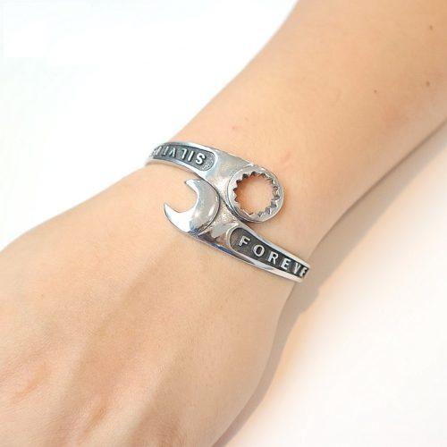 Open Bangle Wrench Bracelet
