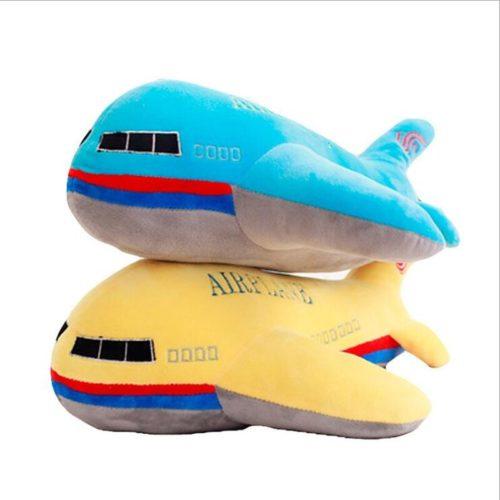 Kids Stuffed Pillow Airplane Plush
