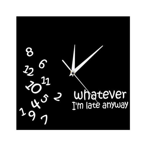 Analog Funny Square Wall Clock