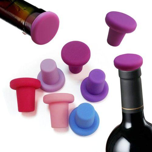 Silicone Cork Wine Bottle Stopper