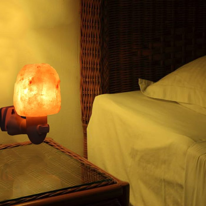 Plug In Salt Lamp Night Light