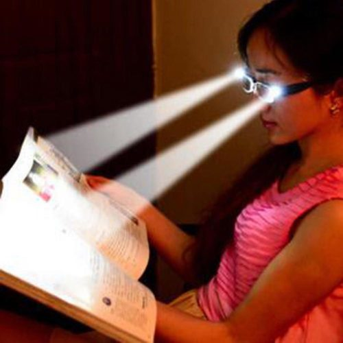 Unisex Reading Glasses with Light