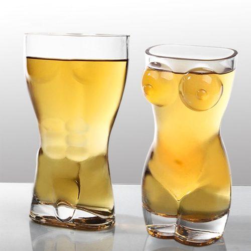 Naked Body Glass Drinkware