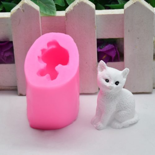 Cat Silicone Mold Cake Decorating Tool