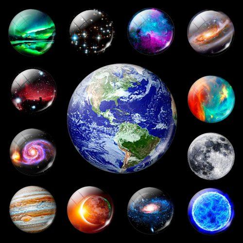 Luminous Solar System Magnet