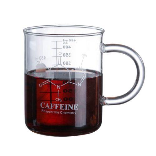 Glass Beaker Coffee Mug