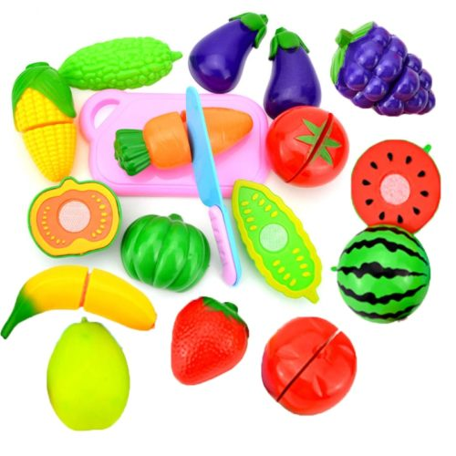 Children's Cutting Fruits and Vegetables Toys