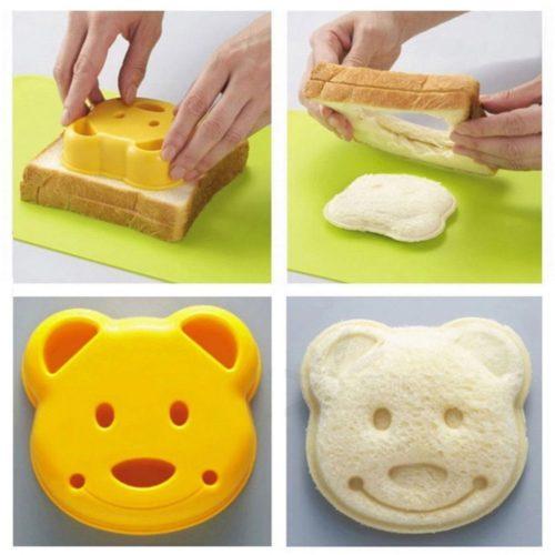 Bear Kid's Sandwich Cutter
