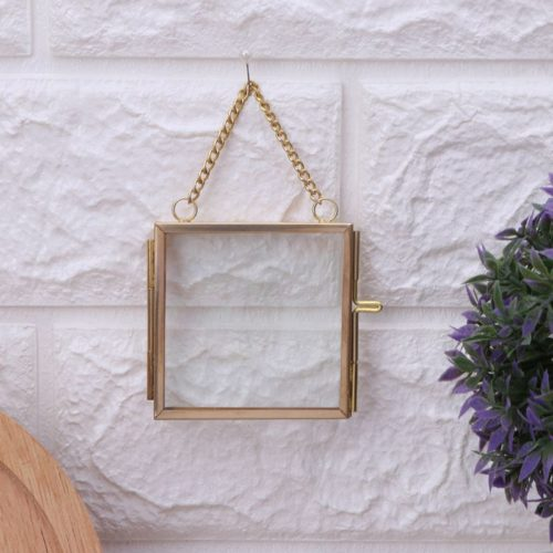 Retro Hanging Chain Picture Frame