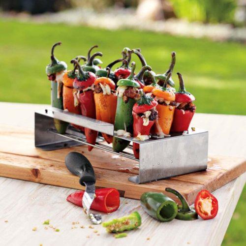 Jalapeno Grill Rack Chili Pepper Roaster