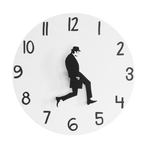 Ministry of Silly Walk Funny Wall Clock