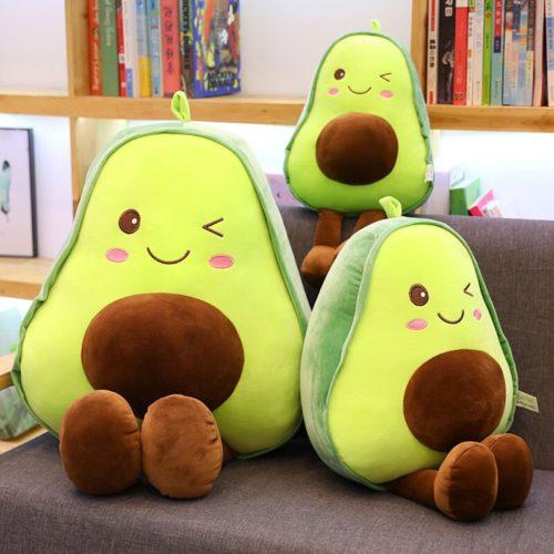 Avocado Stuffed Toy Fruit Plush Pillow