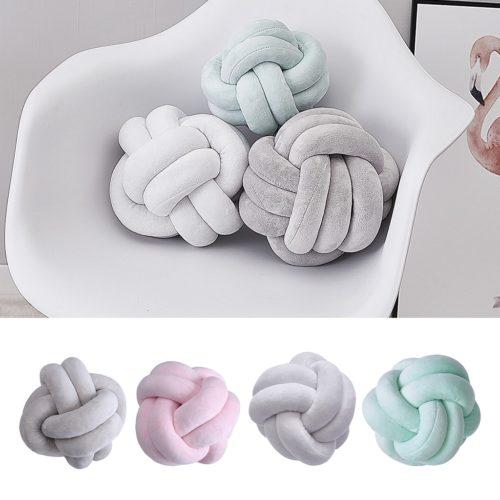 Knot Ball Pillow Decor Cushion