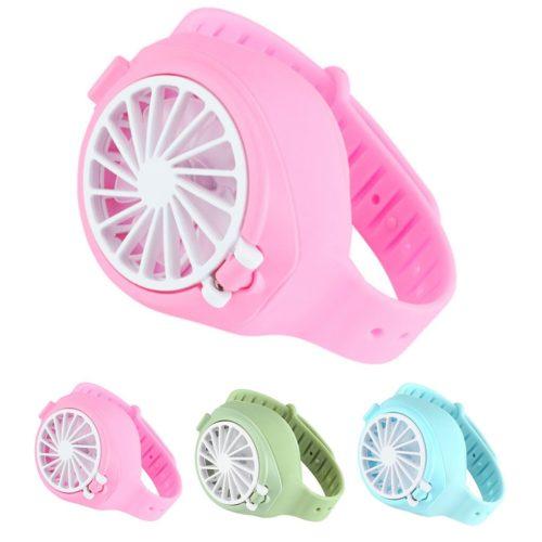 Rechargeable Wearable Fan Watch