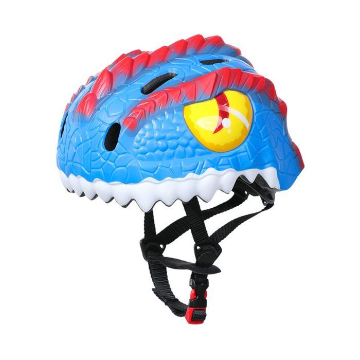 3D Adjustable Dinosaur Kids Helmet