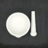 Chinese Style Porcelain Mortar and Pestle