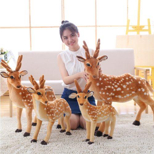 Deer Plush Stuffed Animal Toy