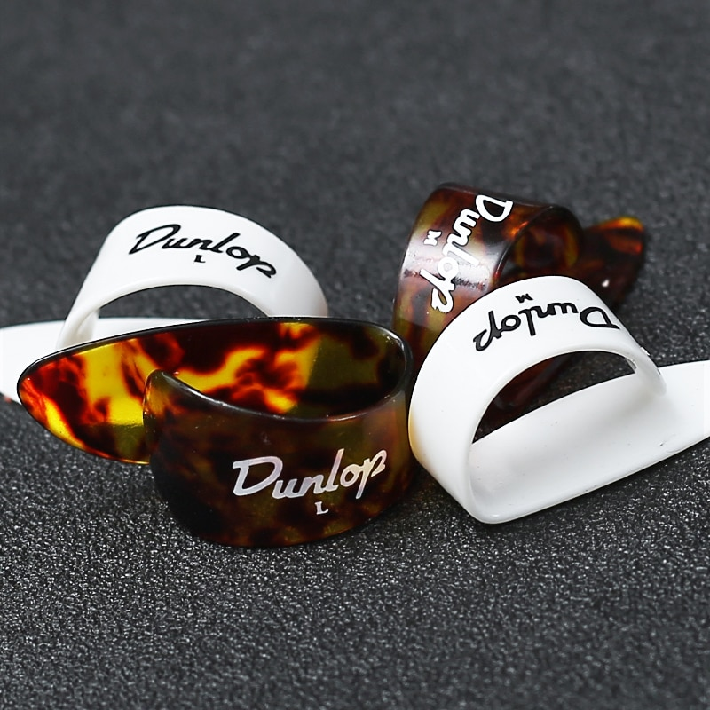Dunlop 1 piece Thumb Finger Guitar Pick Celluloid Mediator Guitar Picks Thumbpick for Acoustic Electric Guitar