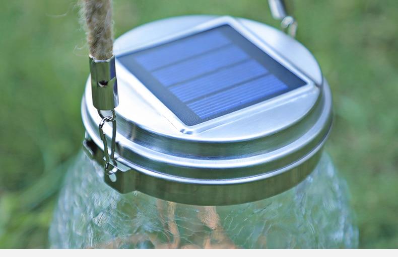 Hanging Solar Lantern for Garden