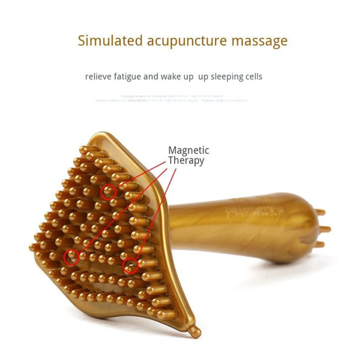 Magnetic Therapy Cellulite Massager Brush