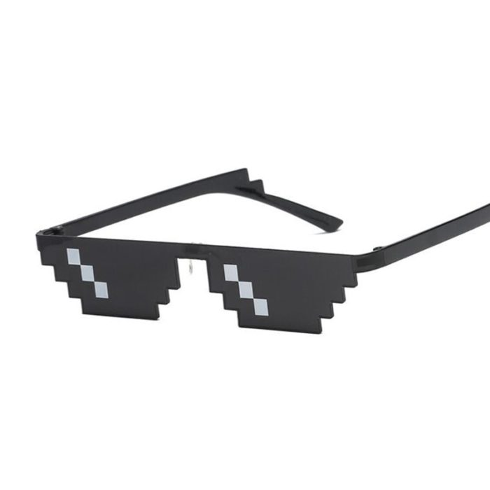 Pixelated Glasses Party Accessory