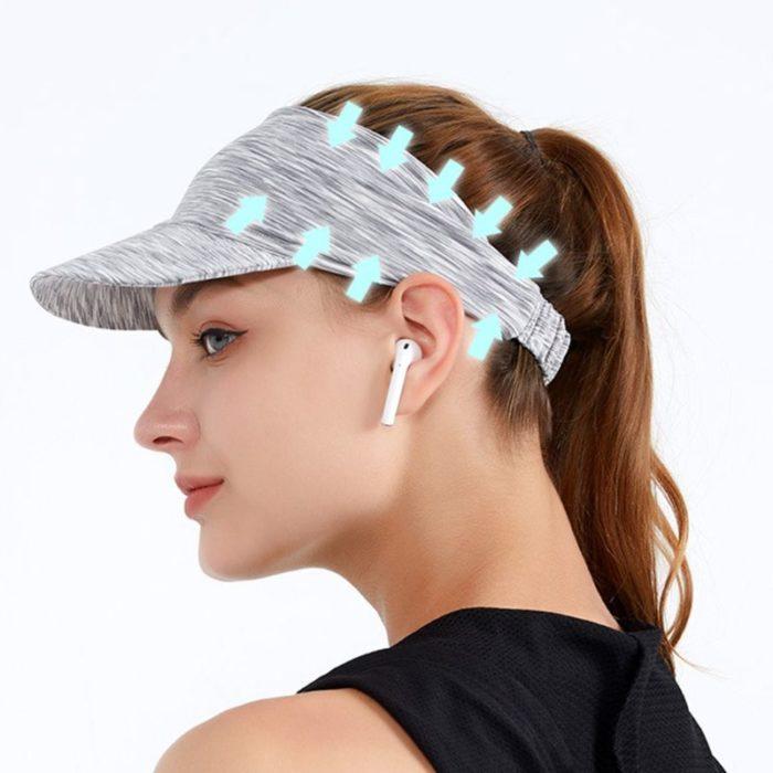 Sports Unisex Headband Visor