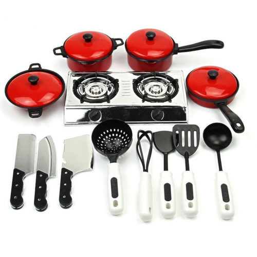 Toy Cooking Set for Kids (13 Pcs)