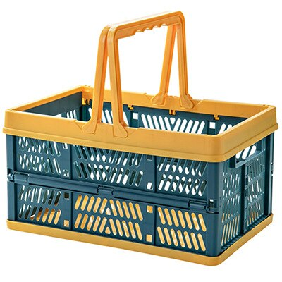Plastic Foldable Shopping Basket
