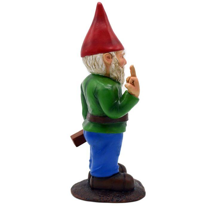 Funny Garden Gnome Resin Figurine