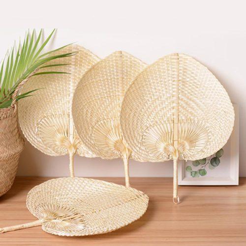 Hand-Woven Summer Bamboo Fan