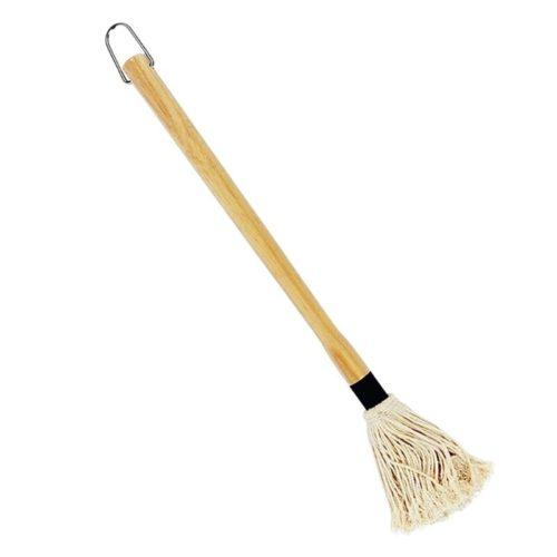 Wooden Handle Cotton BBQ Mop Brush