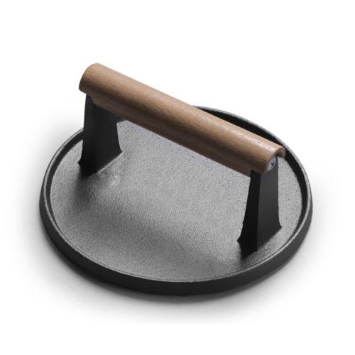 Round Cast Iron Hamburger Press