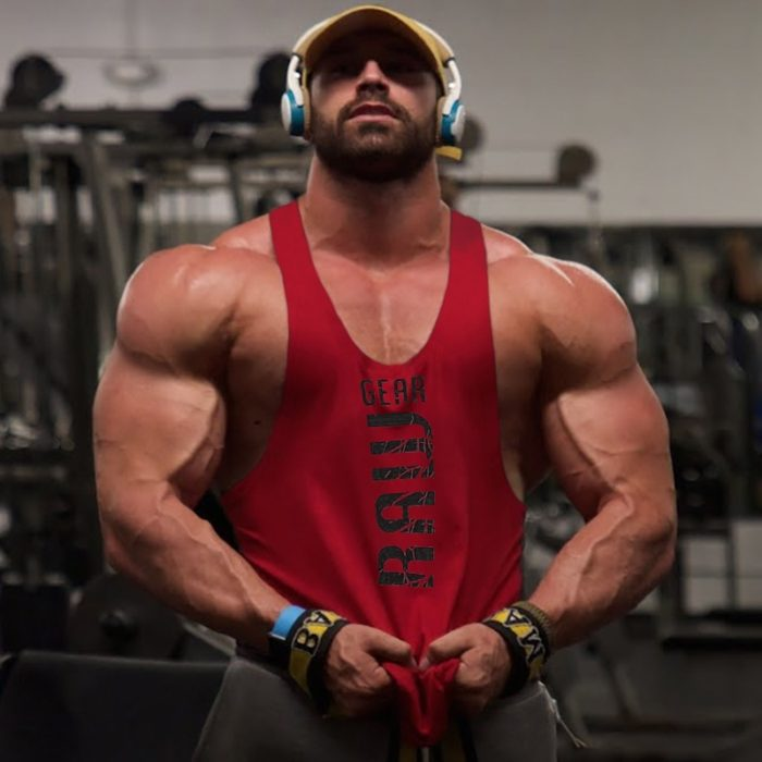 Mens Sleeveless Tank Top Fitness Vest