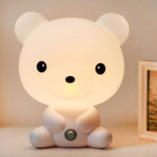 Bedside Night Lamp with Animal Design