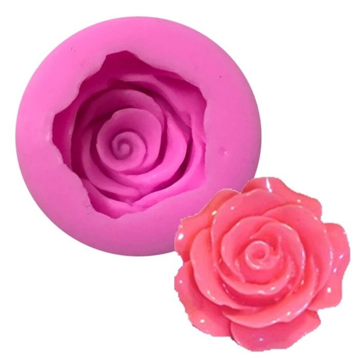 3D Flower Silicone Rose Mold